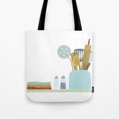 The Kitchen Shelf Tote Bag