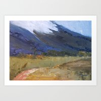 Rolling Storms Art Print