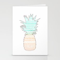Tribal Pineapple  Stationery Cards