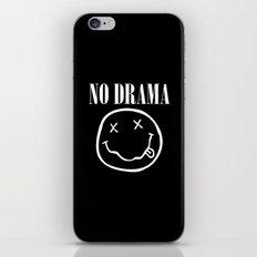 No Drama iPhone & iPod Skin