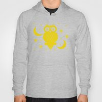 Owl Moon Starry Nights Hoody