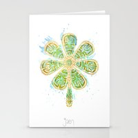 The Motherlucker - Golde… Stationery Cards