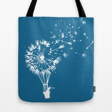 Going where the wind blows Tote Bag
