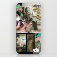 Comic Strip - Chimerical… iPhone & iPod Skin