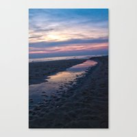 Breaking Through The Gro… Canvas Print