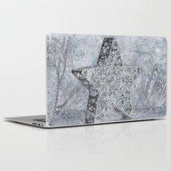 SilverStar Ornament  Laptop & iPad Skin