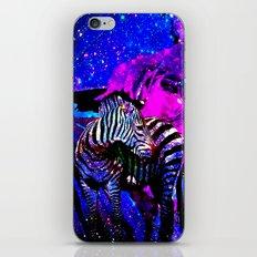 Stars  Butterfly Zebra iPhone & iPod Skin