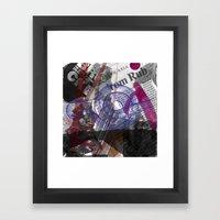 Sea God #1 Framed Art Print