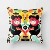 Rainbow Love Throw Pillow