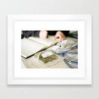 Citra Hops Framed Art Print