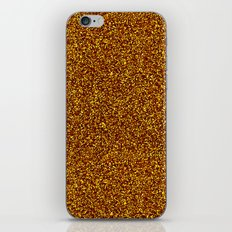 GLITTER KISS iPhone & iPod Skin