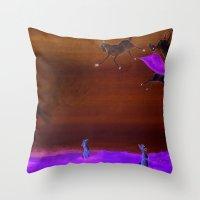 Sheep Shenanigan's Throw Pillow