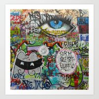 If They Don't Let Us Dre… Art Print