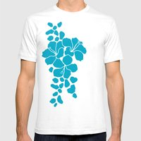 Hibiscus Animal: Caribbe… Mens Fitted Tee White SMALL