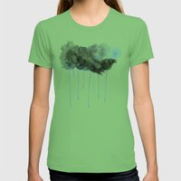 Summer Storm Womens Fitted Tee Grass SMALL
