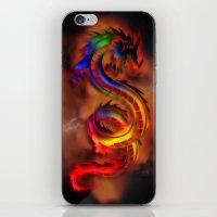 Dragon Two iPhone & iPod Skin