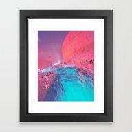 DVIDE (everyday 11.25.15… Framed Art Print