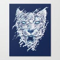 SNOWleopard Canvas Print