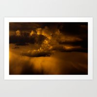 Gloomy Sky 0006 Art Print