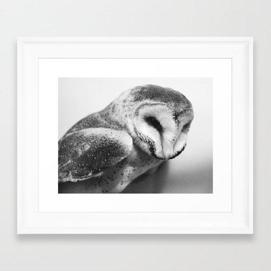 Hoot Framed Art Print