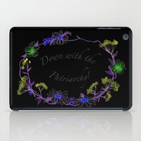 Down with the patriarchy! iPad Case