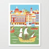 Canal Grande Canvas Print
