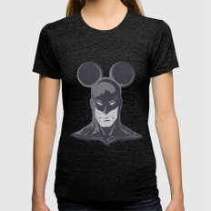 BATMOUSE Womens Fitted Tee Tri-Black SMALL