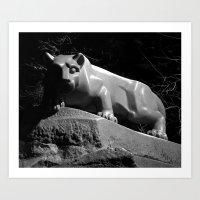Penn State Nittany Lion … Art Print