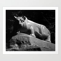 Penn State Nittany Lion Shrine Art Print