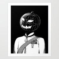 Sir Halloween Art Print