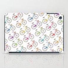 Rainbow Bicycles iPad Case