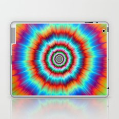 Explosion in Blue and Orange Laptop & iPad Skin