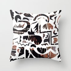 Urban Weekend Throw Pillow