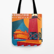 Charlevoix The Beautiful Tote Bag