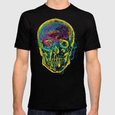 Anatomy Skull Mens Fitted Tee Black SMALL