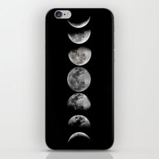 Phases of the Moon iPhone & iPod Skin