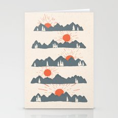 Sunrises... Sunsets... Stationery Cards