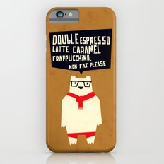 Yeti wants Coffee! iPhone 6 Slim Case