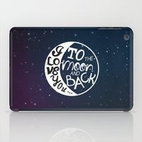 I LOVE YOU To The MOON A… iPad Case