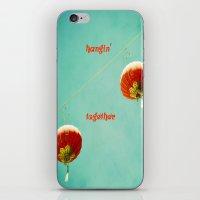 Hangin' Together iPhone & iPod Skin