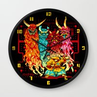PAKKU-MAN Wall Clock