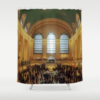 Grand Central Station Shower Curtain