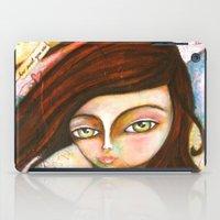 The Black Cat Princess iPad Case