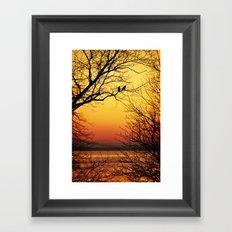 Sunrise Submission Framed Art Print