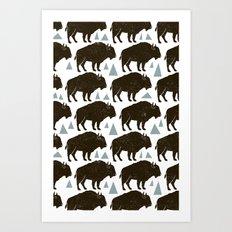 Follow The Herd Art Print