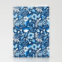 Annabelle - Blues Stationery Cards