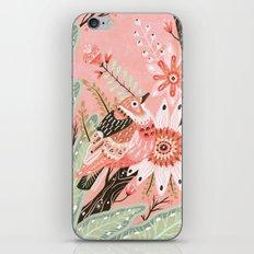 Little Pink Bird iPhone & iPod Skin