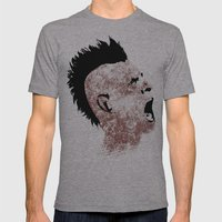 Ravenous Mens Fitted Tee Athletic Grey SMALL