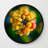 In the shape of  a heart.  Wall Clock