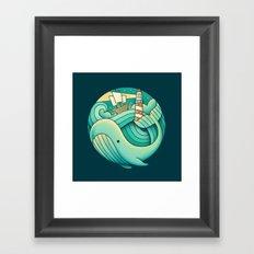 Into the Ocean Framed Art Print